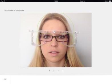 ZEISS i.Terminal mobile teeb parima pildikujutise kvaliteedi saamiseks järjest  4 pilti.